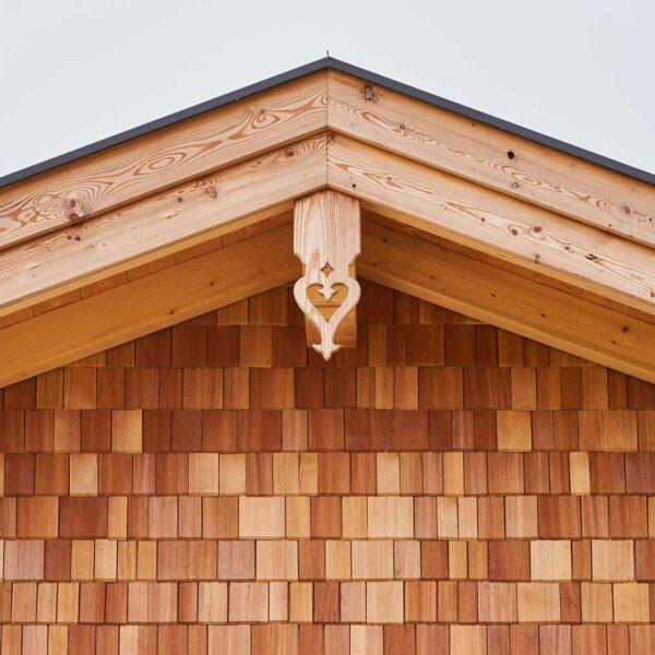 Holzhaus Detail